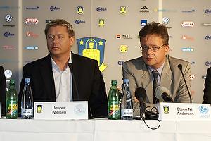 Jesper Nielsen (Kasi), Steen M. Andersen (Unicef), Ole Palm�, adm. direkt�r (Br�ndby IF)