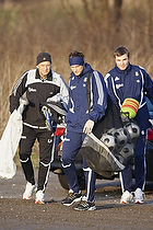 Lars H�gh, m�lmandstr�ner (Br�ndby IF), Stephan Andersen (Br�ndby IF), Michael T�rnes (Br�ndby IF)