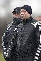 Tom K�hlert, cheftr�ner (Br�ndby IF), Peder Siggaard, assistenttr�ner (Br�ndby IF)