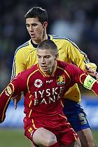 Mark Howard (Br�ndby IF), Martin Bernburg (FC Nordsj�lland)