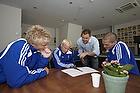 Daniel Wass (Br�ndby IF), Alexander Farnerud (Br�ndby IF), Steen Laursen (kommunikationschef), Jon J�nsson (Br�ndby IF)