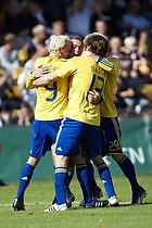 Alexander Farnerud (Br�ndby IF), Peter Madsen (Br�ndby IF), Daniel Wass (Br�ndby IF), Kasper Lorentzen, m�lscorer (Br�ndby IF)