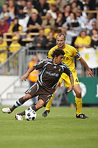 David Williams (Br�ndby IF), Mads Rieper, anf�rer (AC Horsens)