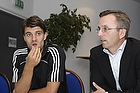 Stefan Gislason (Br�ndby IF), Hermann Haraldson, adm. direkt�r (Br�ndby IF)