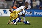 Samuel Holm�n (Br�ndby IF), Atiba Hutchinson (FC K�benhavn)