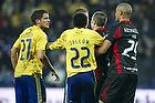 Jan Kristiansen (Br�ndby IF), Ousman Jallow (Br�ndby IF), Winston Reid (FC Midtjylland)