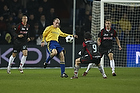 Kim Daugaard (Br�ndby IF), George Florescu (FC Midtjylland)