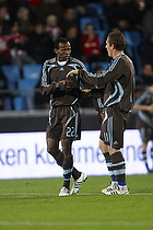 Ousman Jallow (Br�ndby IF), Morten Duncan Rasmussen (Br�ndby IF)