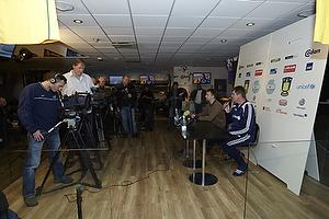 Kent Nielsen, cheftr�ner (Br�ndby IF), Anders Bjerregaard, sportsdirekt�r (Br�ndby IF)