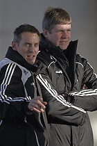 Kent Nielsen, cheftr�ner (Br�ndby IF), Rene Skovdahl (Br�ndby IF)
