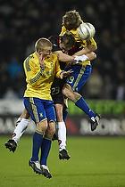 Remco van der Schaaf (Br�ndby IF), Frank Kristensen (FC Midtjylland), Daniel Wass (Br�ndby IF)