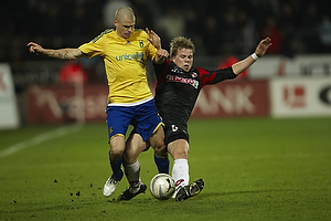 Samuel Holm�n (Br�ndby IF), Jesper Juelsg�rd (FC Midtjylland)