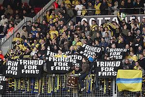 Br�ndbyfans, Frihed for fans