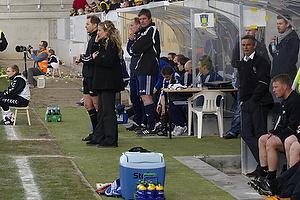 Kent Nielsen, cheftr�ner (Br�ndby IF), Henrik Jensen, cheftr�ner (AC Horsens)