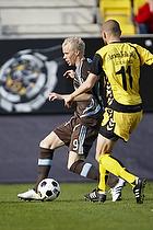 Alexander Farnerud (Br�ndby IF), Niels Lodberg (AC Horsens)