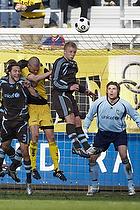 Stephan Andersen (Br�ndby IF), Max von Schlebr�gge (Br�ndby IF), Thomas Rasmussen (Br�ndby IF)
