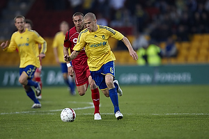 Samuel Holm�n (Br�ndby IF), Bajram Fetai (FC Nordsj�lland)