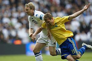 Morten Duncan Rasmussen (Br�ndby IF), Ulrik Laursen (FC K�benhavn)