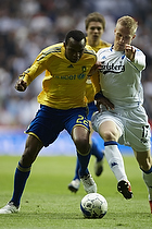 Ousman Jallow (Br�ndby IF), Oscar Wendt (FC K�benhavn)