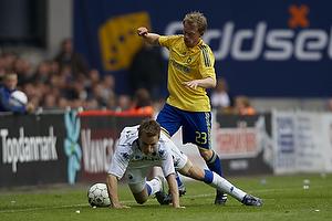 Michael Krohn-Dehli (Br�ndby IF), Jesper Gr�nkj�r (FC K�benhavn)