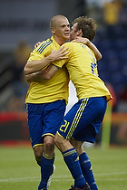 Samuel Holm�n, m�lscorer (Br�ndby IF), Thomas Rasmussen (Br�ndby IF)