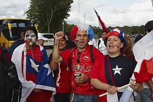 Chilenske fodboldfans