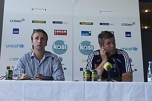 Anders Bjerregaard, sportschef (Br�ndby IF), Kent Nielsen, cheftr�ner (Br�ndby IF)