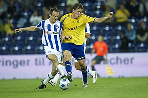 Morten Duncan Rasmussen (Br�ndby IF), Steve von Bergen (Hertha Berlin)