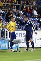Martin Bernburg (Br�ndby IF), Kent Nielsen, cheftr�ner (Br�ndby IF)