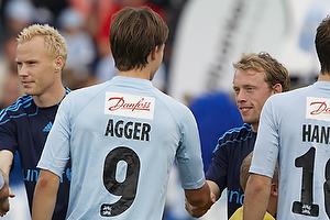 Michael Krohn-Dehli (Br�ndby IF), Nicolaj Agger (S�nderjyskE)