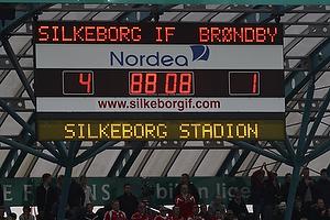 4-1 til Silkeborg IF p� m�ltavlen