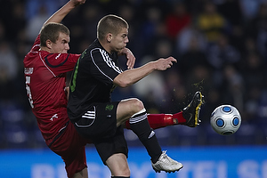 Martin Bernburg (Br�ndby IF), Andreas Bjelland (FC Nordsj�lland)
