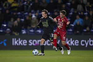 Mike Jensen (Br�ndby IF), S�ren Christensen (FC Nordsj�lland)
