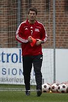 Michael Laudrup tr�ner med Haardby IK 81