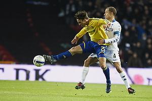 Mike Jensen (Br�ndby IF), Hjalte Bo N�rregaard (FC K�benhavn)
