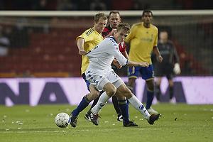 Remco van der Schaaf (Br�ndby IF), Jesper Gr�nkj�r (FC K�benhavn)