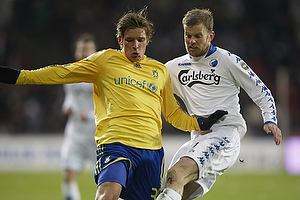 Jens Larsen (Br�ndby IF), Mikael Antonsson (FC K�benhavn)