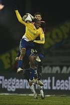 Ousman Jallow (Br�ndby IF), Kevin Stuhr Ellegaard (Randers FC)