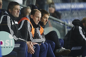 Kim Daugaard, assistenttr�ner (Br�ndby IF), Kent Nielsen, cheftr�ner (Br�ndby IF)