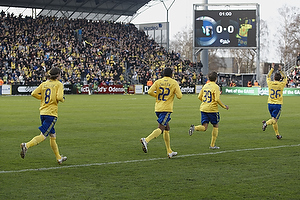 Mikael Nilsson (Br�ndby IF), Ousman Jallow (Br�ndby IF), Jens Larsen (Br�ndby IF), Mike Jensen (Br�ndby IF)