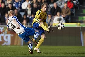Michael Krohn-Dehli, anf�rer (Br�ndby IF), Hans Henrik Andreasen (Ob)