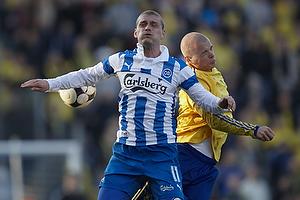 Johan Absalonsen (Ob), Samuel Holm�n (Br�ndby IF)