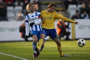 Chris S�rensen (Ob), Jens Larsen (Br�ndby IF)