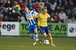 Johan Absalonsen (Ob), Michael Krohn-Dehli (Br�ndby IF)