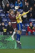 Jens Larsen (Br�ndby IF), Pierre Bengtsson (FC Nordsj�lland)