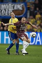 Bajram Fetai (FC Nordsj�lland), Jan Frederiksen (Br�ndby IF)