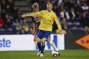 Tobias Mikkelsen (FC Nordsj�lland), Samuel Holm�n (Br�ndby IF)