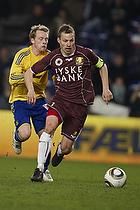 Michael Krohn-Dehli, anf�rer (Br�ndby IF), Nicolai Stokholm, anf�rer (FC Nordsj�lland)