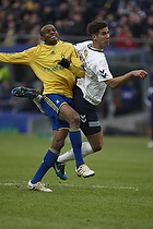 Ousman Jallow (Br�ndby IF), Mark Howard (Agf)