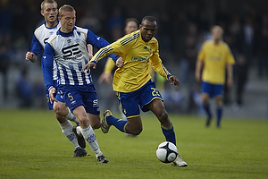 Thomas Gaards�e (Esbjerg fB), Ousman Jallow (Br�ndby IF)
